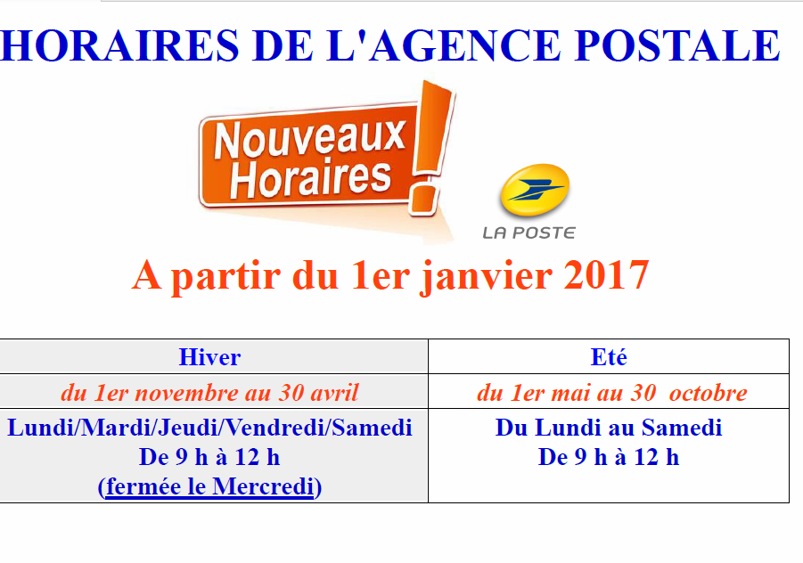 horaires-poste